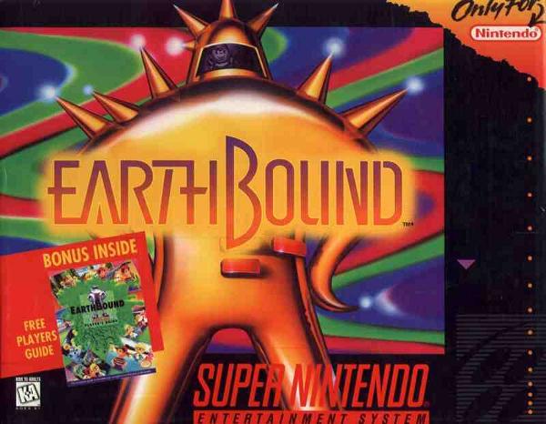 EarthBound Review (Nintendo SNES)   Negative World Nintendo
